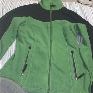 Green Columbia Sweater